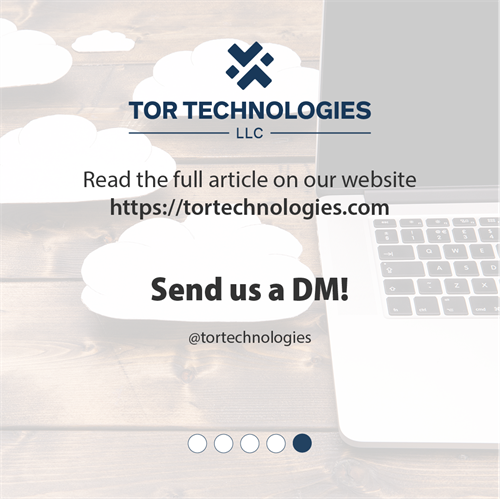 Read our full article on our website. https://www.tortechnologies.com/essential-tips-for-cloud-computing-security-and-safety/