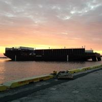 Kamakani ready to depart to Mainland from our Kalaeloa terminal