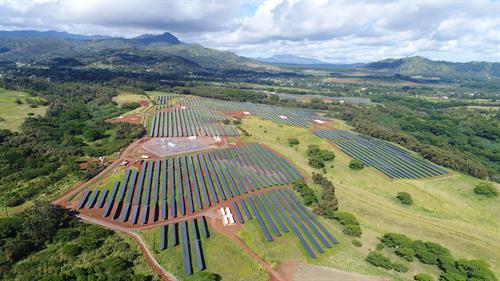 AES Lawai solar+storage facility