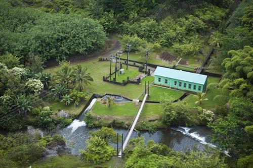 Lower Waiahi hydropower plant
