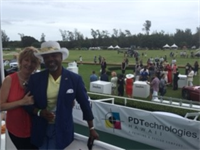 John and Danelia attending the Hawaii International Polo Championships in Waimanalo