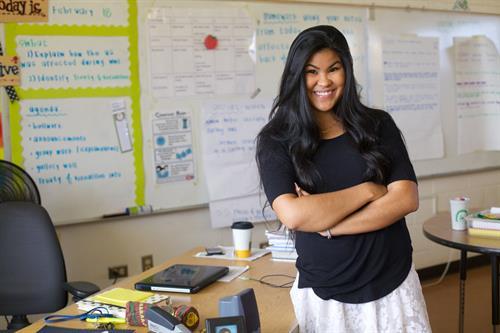 Katie Miyashiro, 2013 Corps Member, Wai''anae High School