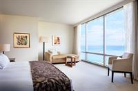 Spacious residential-style guest rooms and suites