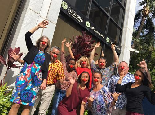 HiHealthCare Team - Red Nose Day (2017)