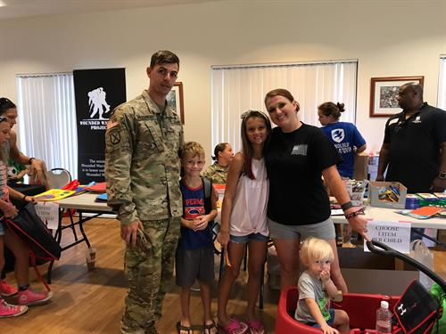 Back-to-School Brigade 2017 on Schofield Barracks - Operation Homefront was able to provide 600 military children in Hawaii with backpacks and school supplies for the upcoming 2017-18 school year.