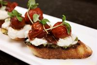 The Study - Burrata Bruschetta