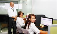 Friendly and professional associates ready to handle your accounts.