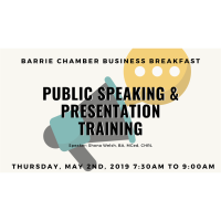 Chamber Business Breakfast - May 2, 2019