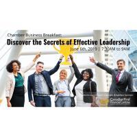 Chamber Business Breakfast - June 6, 2019