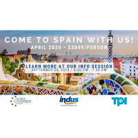 Chamber Trip to Spain - Info Session - September 24, 2019
