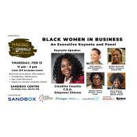 DIVERSITY: Making Change Across Simcoe County - Black Women in Business - Executive Keynote & Panel - February 13, 2020