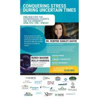 FREE WEBINAR: Conquering Stress During Uncertain Times with Dr. Robyne Hanley Dafoe