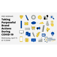 FREE WEBINAR: Taking Purposeful Brand Actions During COVID-19