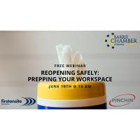 FREE WEBINAR: Reopening Safely: Prepping Your Workspace