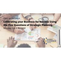 FREE WORKSHOP: Calibrating your Business for Success Using the Five Questions of Strategic Planning