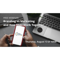 FREE WORKSHOP: Branding vs Marketing and How They Work Together