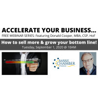 FREE WEBINAR: Accelerate your business… how to sell more & grow your bottom line!