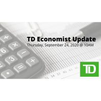 FREE WEBINAR: TD Economist Update