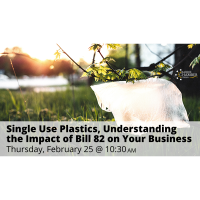 FREE WEBINAR: Single Use Plastics, Understanding the Impact of Bill 82 on Your Business
