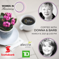 WOMEN IN BUSINESS: Coffee with Donna & Barb