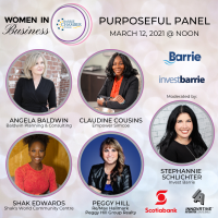 WOMEN IN BUSINESS: Purposeful Panel