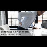 FREE WEBINAR: Eliminate Pain at Work
