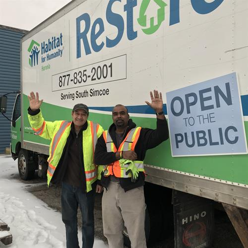 Our truck does free pick-ups! Meet Syd and Ronnie!