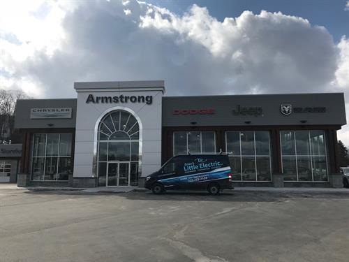 Armstrong Dodge Dealership New Build