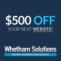 Whetham Solutions Web Design - Barrie