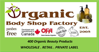 Organic body shop card