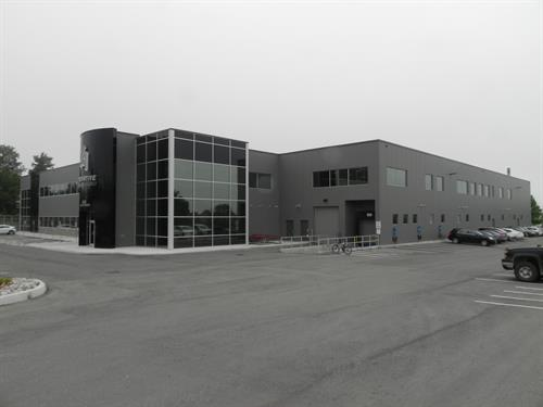 Innovative Automation at 625 Welham Road in Barrie, ON. Phase 1 was completed in Dec 2017 with Phase 2 set to start construction this summer.