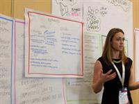 Design Thinking Workshop - presenting our work (GEC2017)