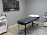 Our open treatment area.  Useful for the application of heat, ice and other therapeutic modalities.