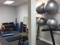 The exercise rehabilitation space.
