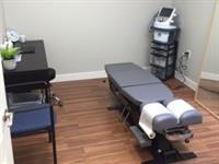 One of our private clinical offices.  Used for your initial assessment as well as treatments.