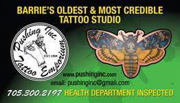 Pushing Inc. Tattoo Emporium