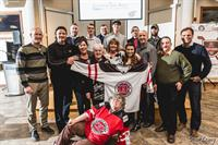 Hockey Helps the Homeless Committee and volunteers