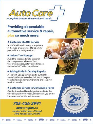 Poster design for Auto Care Plus