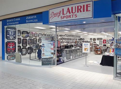 Doug Laurie Sports side storefront