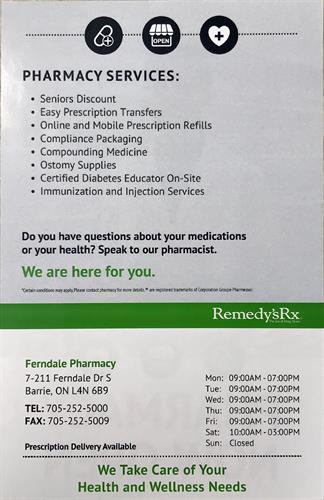 Pharmacy Detail