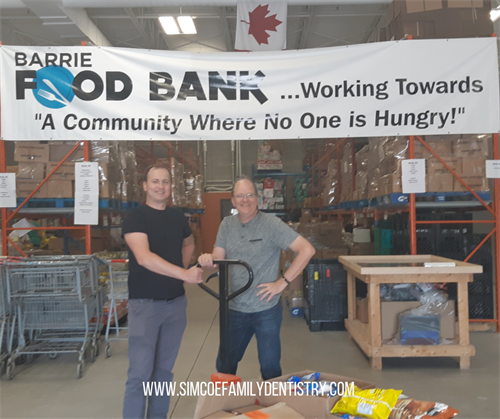 We love to help out in our community!