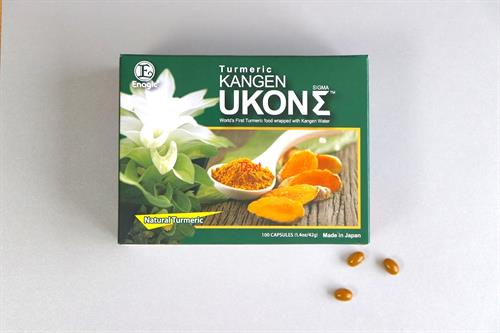 Enagic's UKON Tumeric supplements for total body wellness