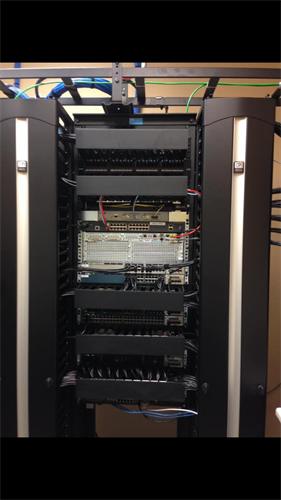 Cable Managment, Cable rack , Computer networking