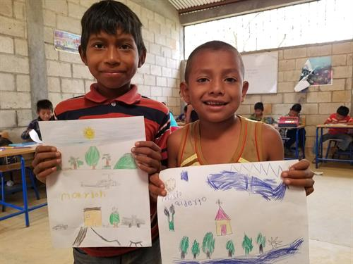 I travel to countries in search for desperate children in need of education.  Together we create a storybook with illustrations that come alive through their eyes.