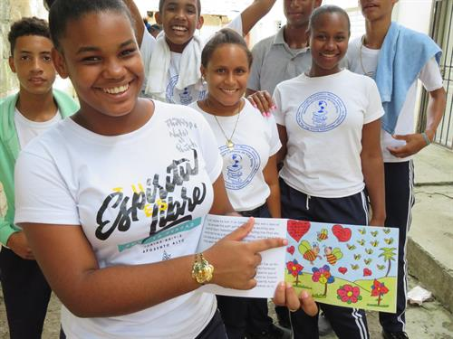 By being a part of the creation of these books, the children feel that they are in control of their future. They have helped raise money for their own education!