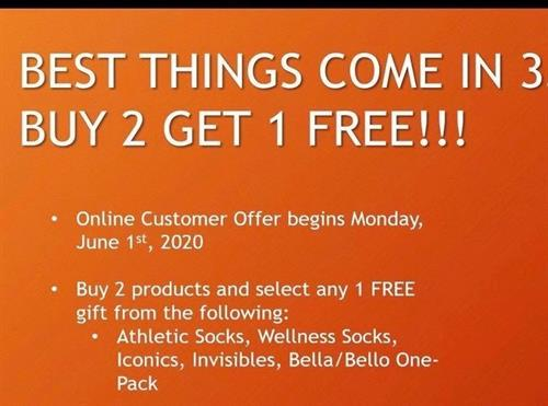 Buy 2 products and get 1 FREE plus a 30 day money back gaurantee