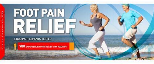 Foot pain relief