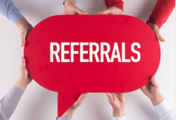 Always welcome referrals as I am Here2Help