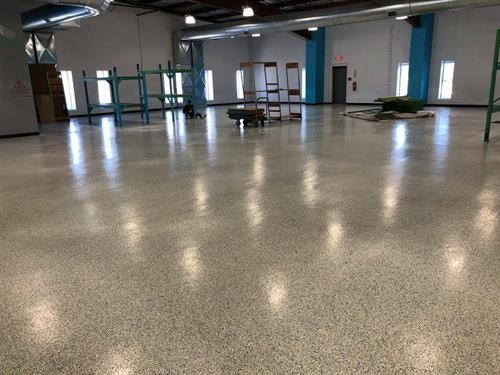 Epoxy Floor for High Traffic Area