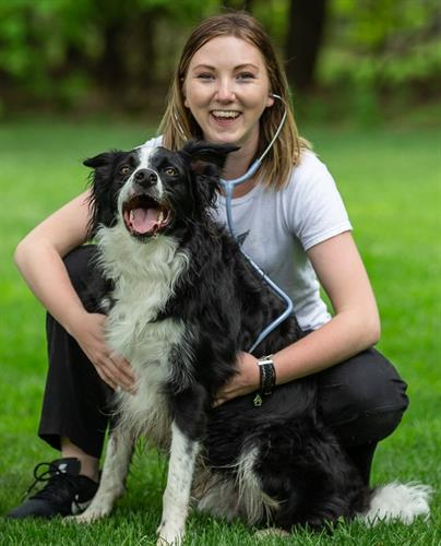 Becky & Her Border Collie Cooper